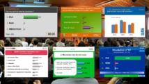 Slides de vote électronique