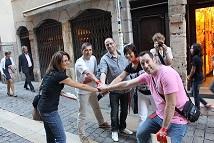Visiter Lyon avec un Jeu original d'entreprise, parcourir les traboules lyonnaises et le patrimoine de Lyon - Team building insolite
