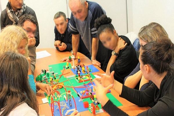 Méthode Lego (c) Serious Play (c) - Facilitateurs certifiés - Facilitation intelligence collective - Lyon Rhone Alpes Auvergne et BFC