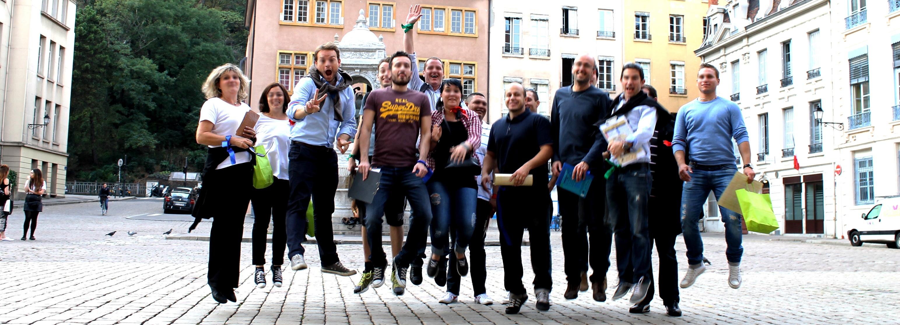 Rhone Team Building Lyon - Animateurs et idées de team building original ou sur mesure
