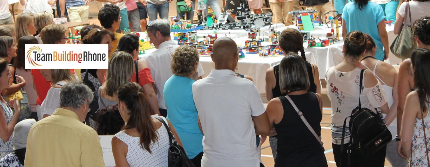 Team Building avec pièces lego® dans la Loire
